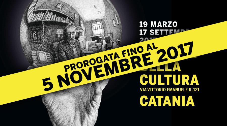 Mostra escher catania palazzo della cultura catania for Escher mostra catania