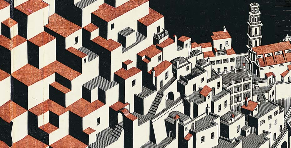 Escher, Metamorfosi II