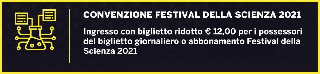 Convenzione Festival della Scienza 2021